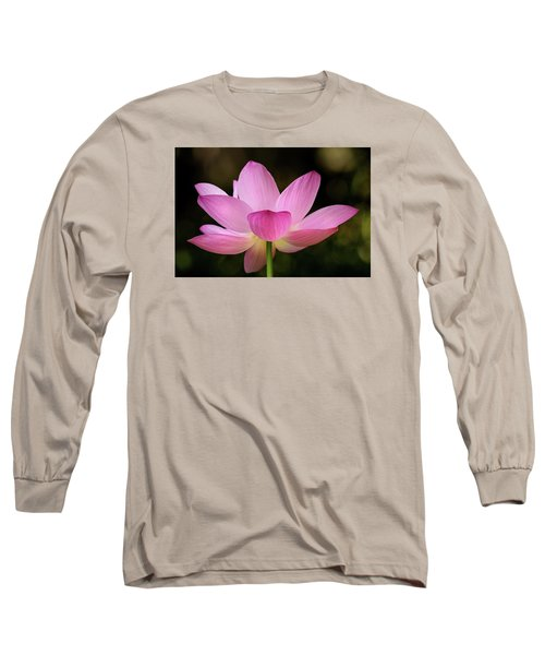 Lotus At The National Zoo Long Sleeve T-Shirt