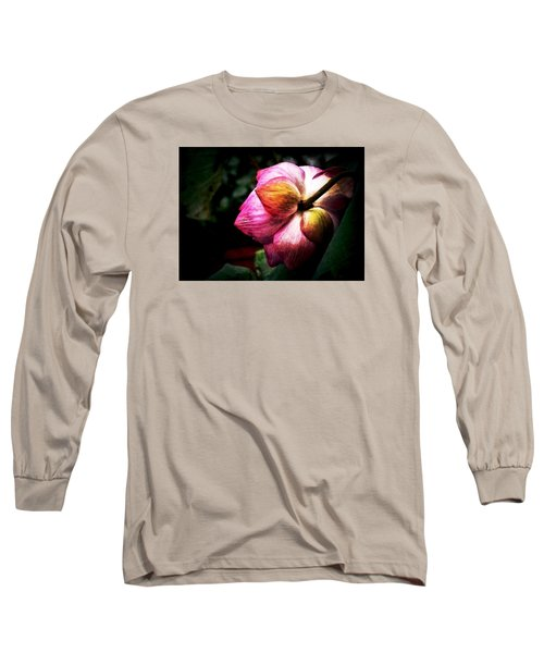 Long Sleeve T-Shirt featuring the digital art Lotus by Cameron Wood