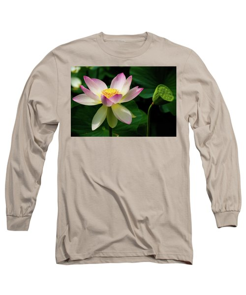 Lotus Lily In Its Final Days Long Sleeve T-Shirt
