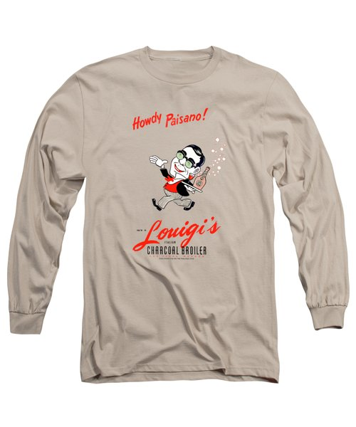 Louigis Las Vegas 1960 Long Sleeve T-Shirt
