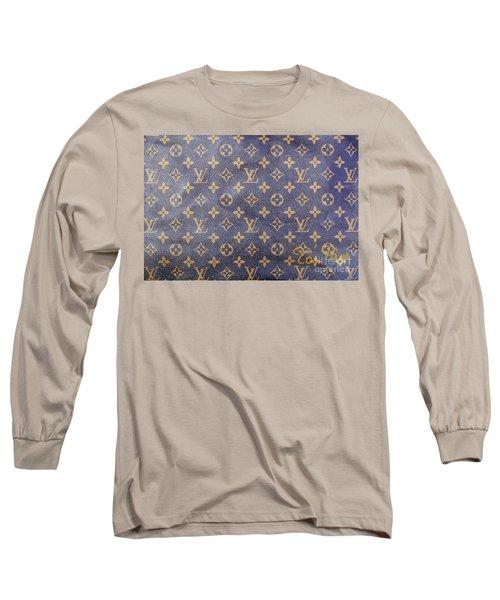 Louis Vuitton Monogram Pattern Long Sleeve T-Shirt