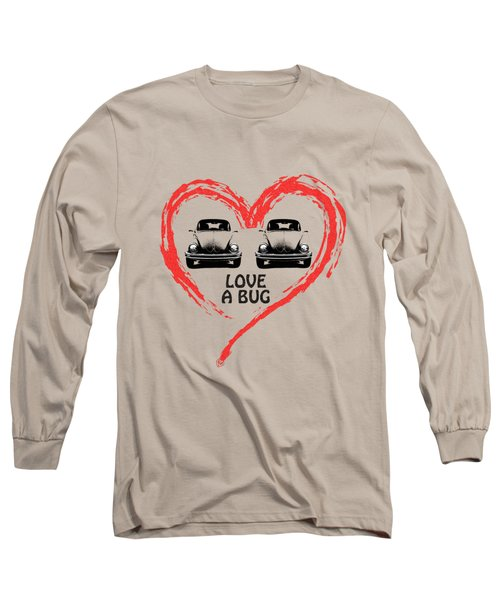 Love A Bug Long Sleeve T-Shirt by Mark Rogan