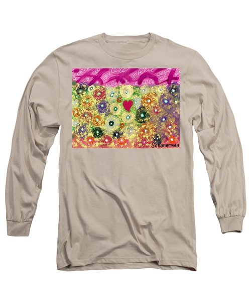 Love And Silly Bubbles Long Sleeve T-Shirt