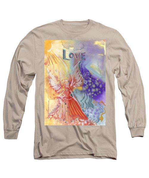 Love Angel Long Sleeve T-Shirt