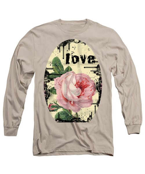 Love Grunge Rose Long Sleeve T-Shirt