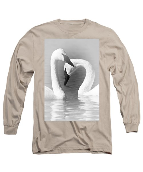 Love In Black And White Long Sleeve T-Shirt