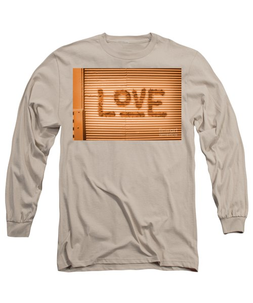 Love Is All Long Sleeve T-Shirt