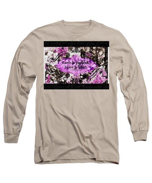 Love Is Kind Long Sleeve T-Shirt