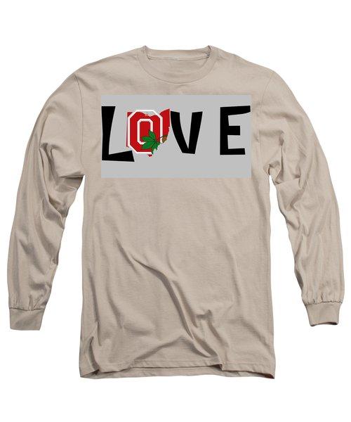 Love Ohio Long Sleeve T-Shirt