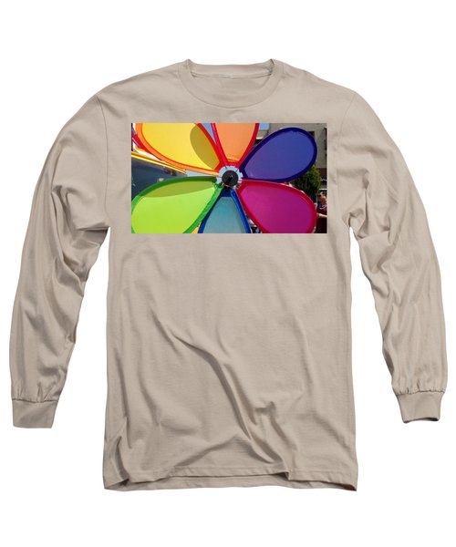 Love Wins Long Sleeve T-Shirt by Claudia Goodell