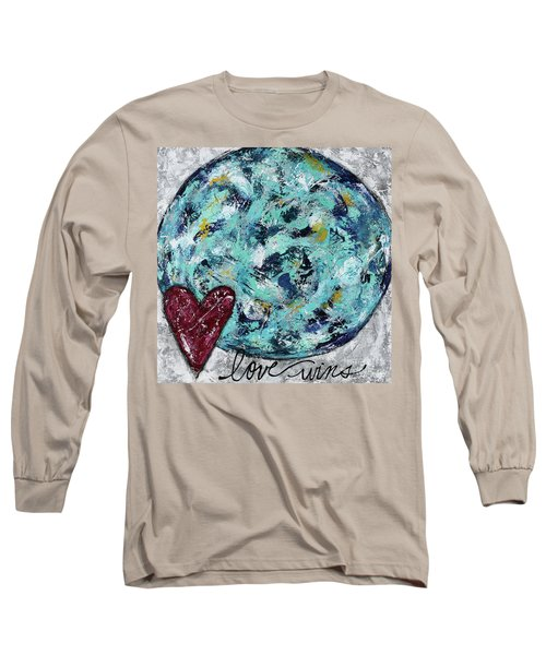 Love Wins Long Sleeve T-Shirt by Kirsten Reed