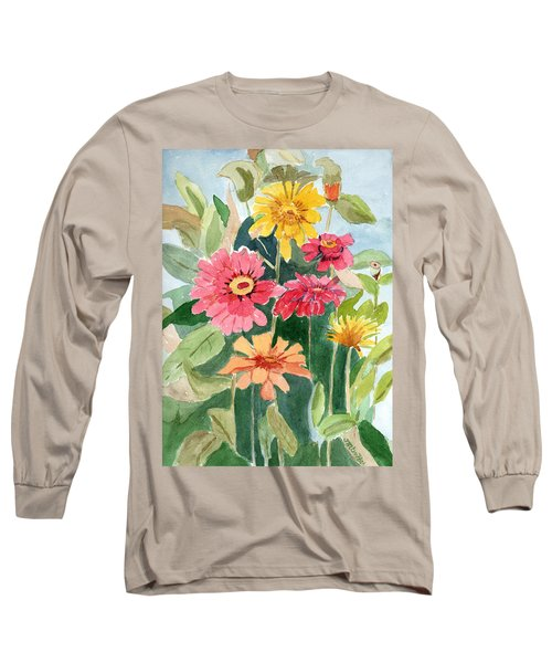 Lovely Flowers Long Sleeve T-Shirt