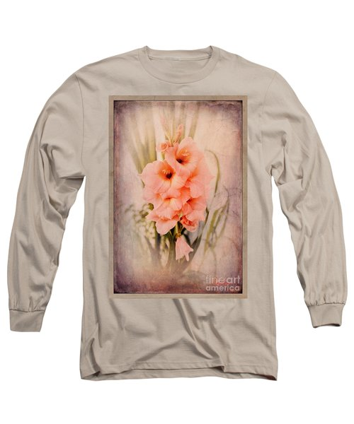 Lovely Gladiolus Long Sleeve T-Shirt