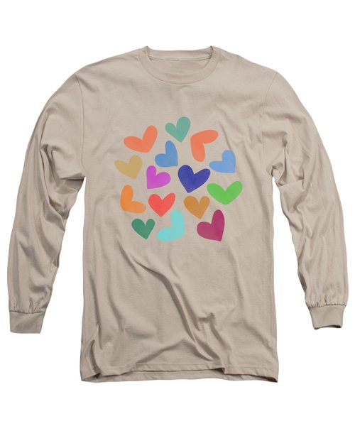 Lovely Pattern Iv Long Sleeve T-Shirt