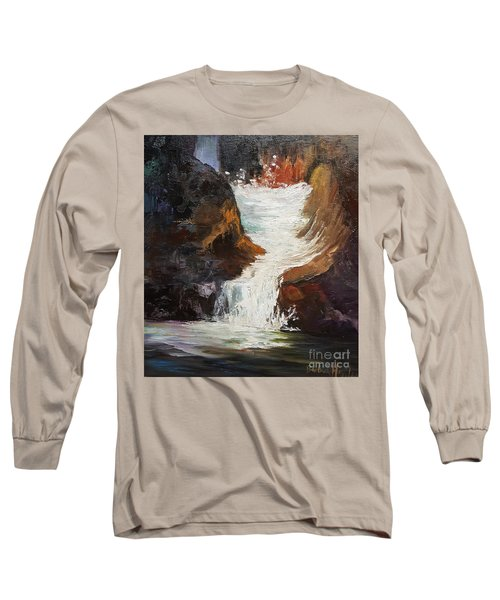 Lower Chasm Waterfall Long Sleeve T-Shirt
