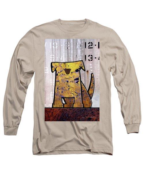 Loyal Long Sleeve T-Shirt by Joan Ladendorf