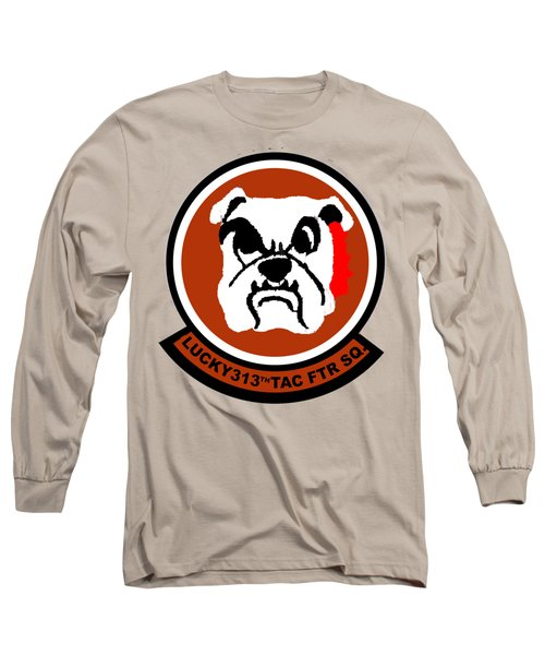 Lucky 313th Tac Ftr Sq Long Sleeve T-Shirt