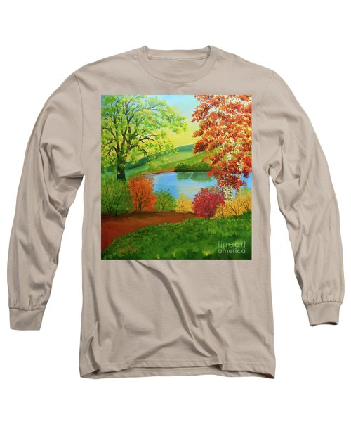 Luminous Colors Of Fall Long Sleeve T-Shirt