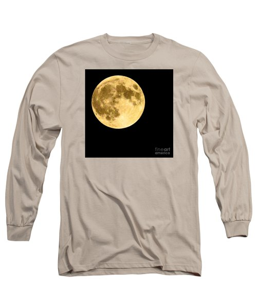 Lunar Close Up Long Sleeve T-Shirt