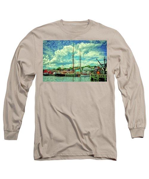 Lunenburg Harbor Long Sleeve T-Shirt