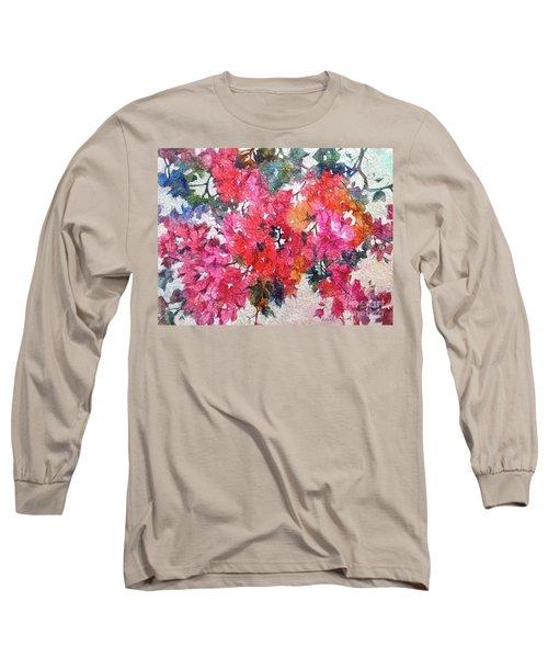 Luscious Bougainvillea Long Sleeve T-Shirt
