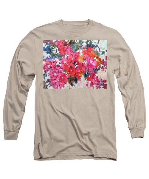 Luscious Bougainvillea Long Sleeve T-Shirt