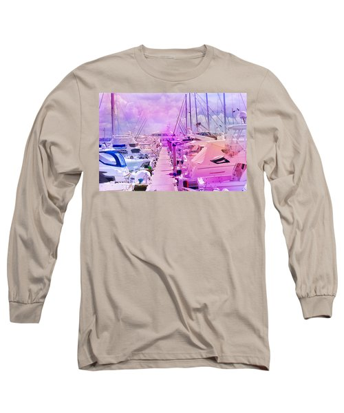 Marina In The Morning Glow Long Sleeve T-Shirt