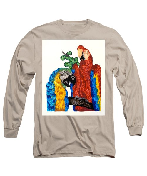 Macaws Long Sleeve T-Shirt