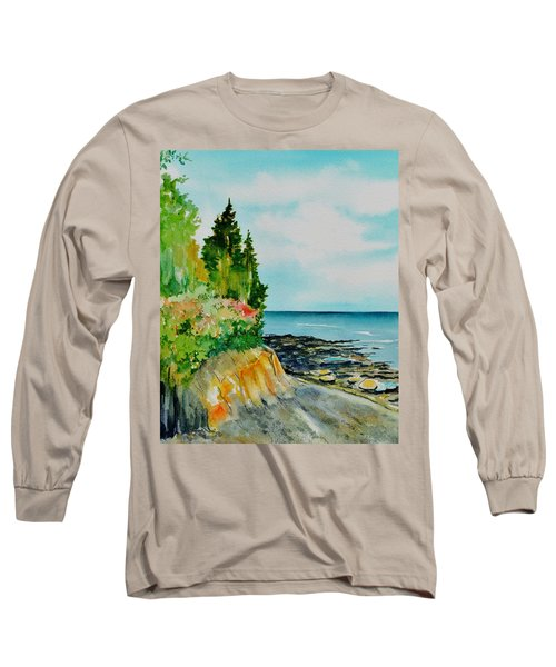 Mackworth Island Maine  Long Sleeve T-Shirt