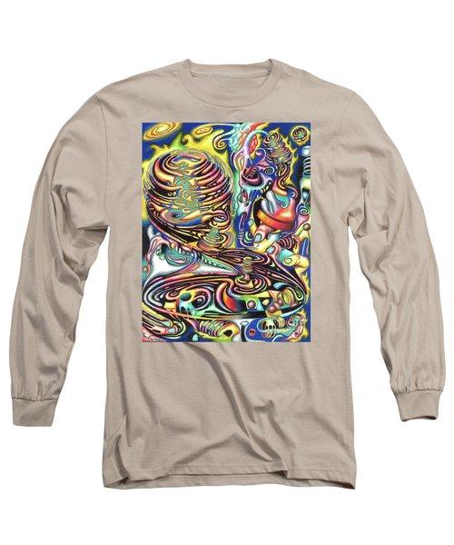 Macrocosmic Creation Of A Splendid Puzzle Long Sleeve T-Shirt