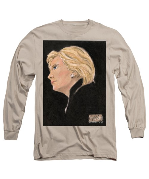 Madame President Long Sleeve T-Shirt by P J Lewis