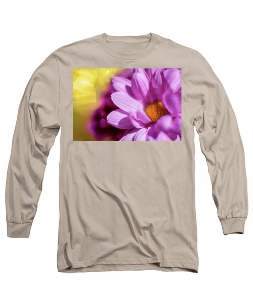 Magenta Floral Long Sleeve T-Shirt