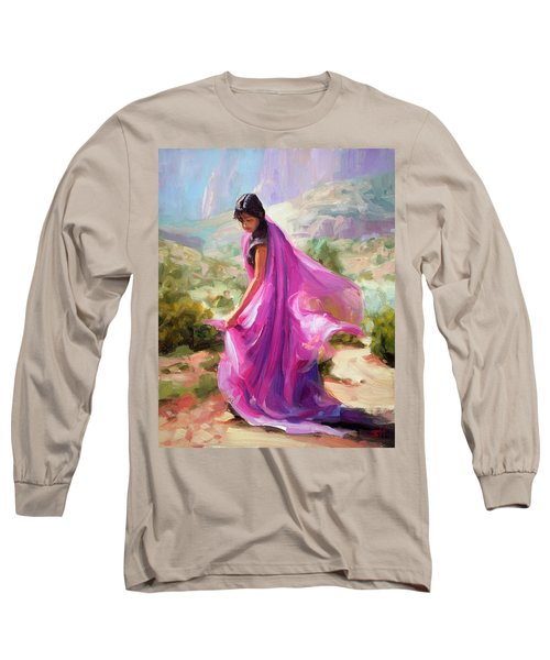 Magenta In Zion Long Sleeve T-Shirt
