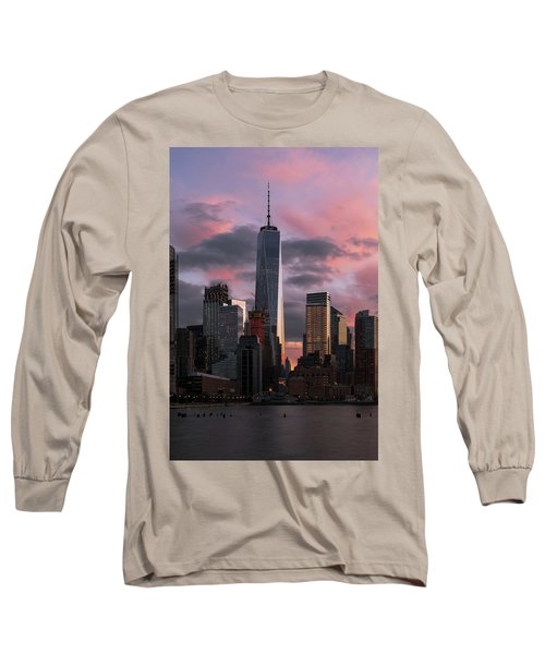 Magenta Skies Long Sleeve T-Shirt