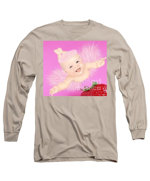 Magic Baby Face-pink Angle Long Sleeve T-Shirt