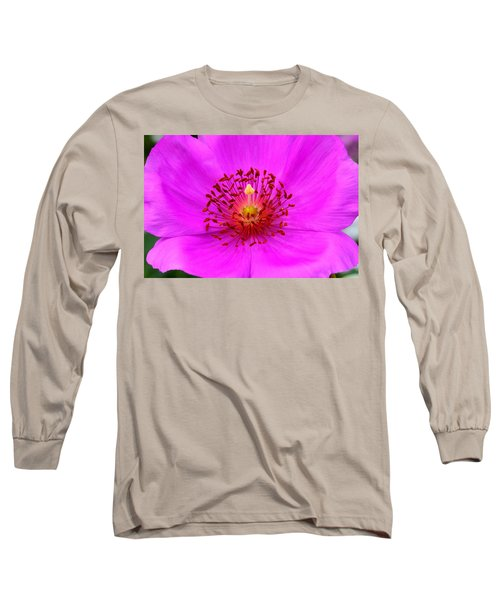 Magic Magenta - Calandrinia Long Sleeve T-Shirt