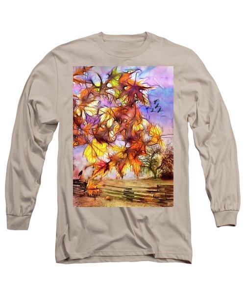 Magic Of Autumn Long Sleeve T-Shirt