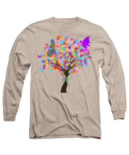 Magical Tree - Digital Art Long Sleeve T-Shirt