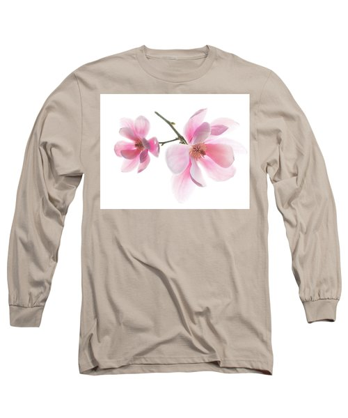 Magnolia Is The Harbinger Of Spring. Long Sleeve T-Shirt
