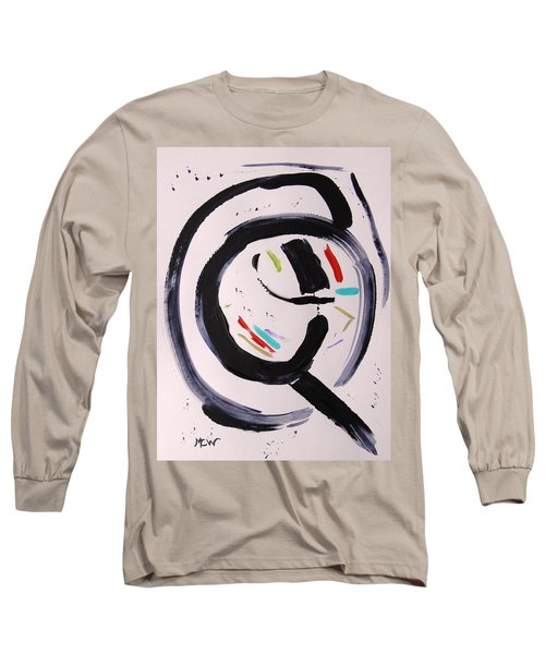 Long Sleeve T-Shirt featuring the painting Magnifying by Mary Carol Williams