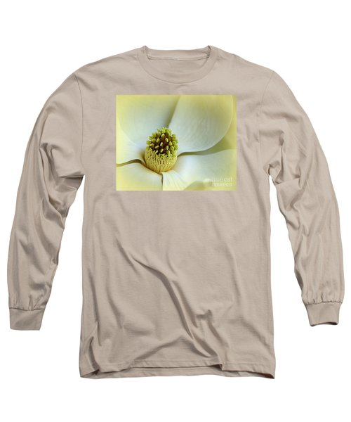 Long Sleeve T-Shirt featuring the photograph Magnolia Heart II by Lisa L Silva