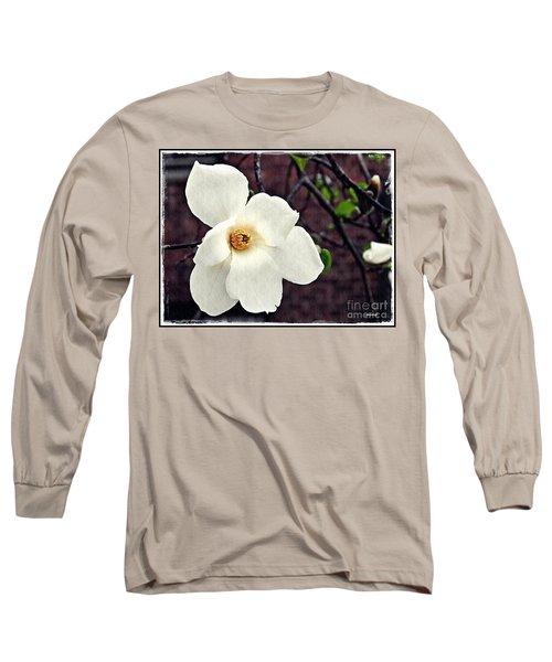 Magnolia Memories 2 Long Sleeve T-Shirt by Sarah Loft