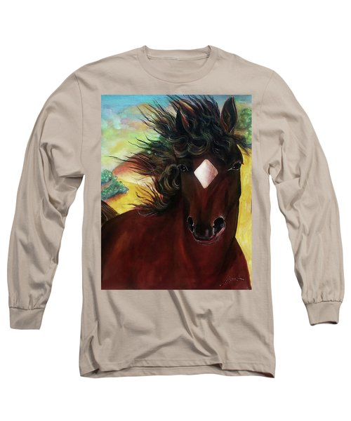 Mahogany  Long Sleeve T-Shirt