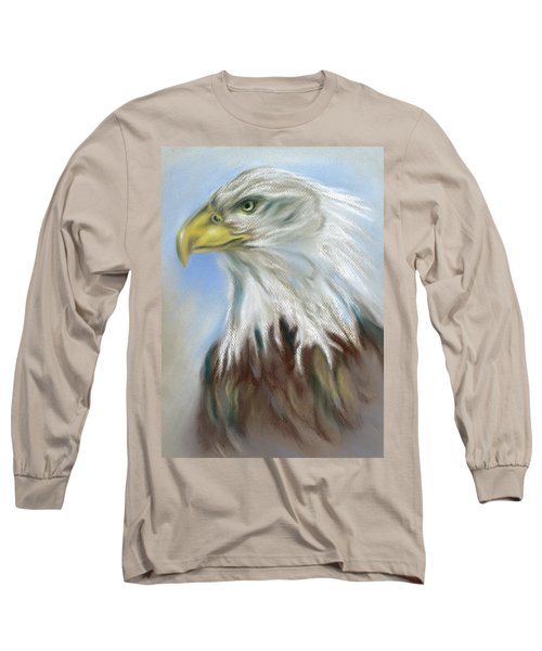Majestic Bald Eagle Long Sleeve T-Shirt