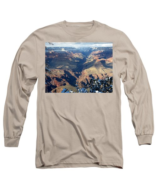 Majestic Grand Canyon Long Sleeve T-Shirt by Laurel Powell