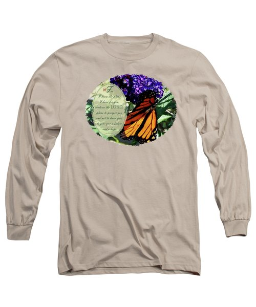 Majestic Monarch - Verse Long Sleeve T-Shirt
