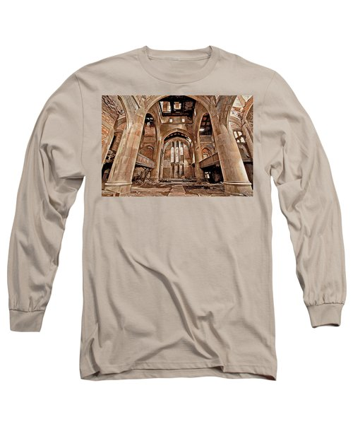 Long Sleeve T-Shirt featuring the photograph Majestic Ruins by Suzanne Stout