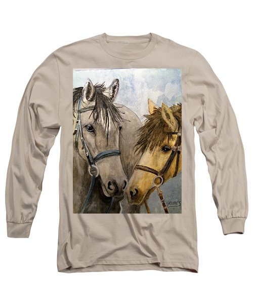 Making Friends Long Sleeve T-Shirt