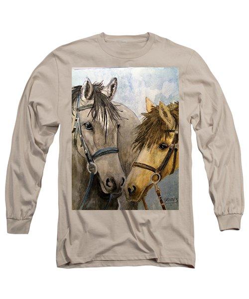 Making Friends Long Sleeve T-Shirt