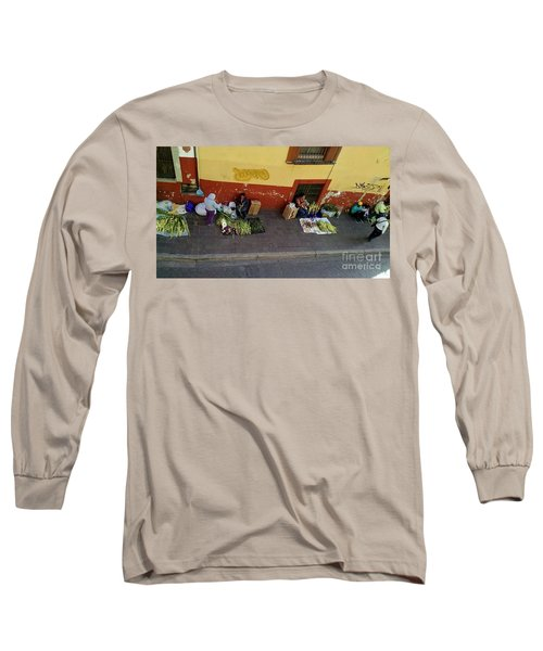 Making Souvenirs On Palm Sunday Long Sleeve T-Shirt
